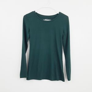 4 for 25$ Susina long sleeve emerald tee